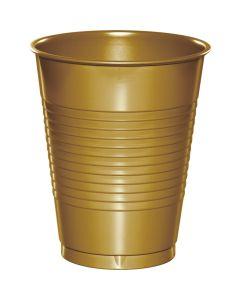 Metallic Gold 16Oz Cups 20ct