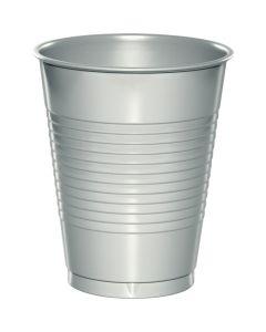 Metallic Silver 16Oz Cups 20ct