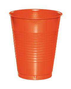 Orange 16 oz Cups 20ct