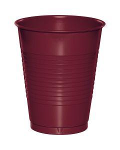 Burgundy 16 oz Cups 20ct