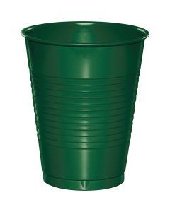 Hunter Green 16 oz Cups 20ct