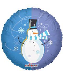 "18"" Smiling Winter Snowman"