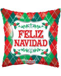 "18"" Feliz Navidad Ornaments"