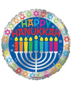 "18"" Happy Hannukah"