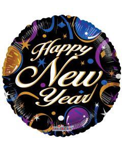 "18"" New Year Stars & Confetti"
