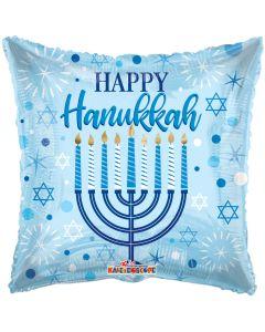 """18"""" Happy Hannukah"""