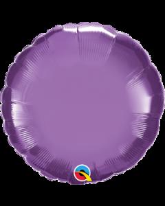 "18""Purple Chrome Round"