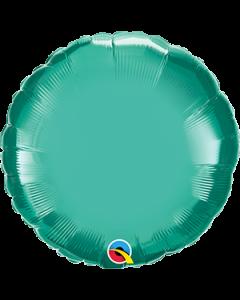 "18""Green Chrome Round"