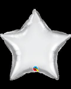 "20""Silver Chrome Star"