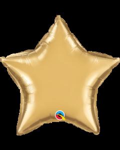 "20""Gold Chrome Star"