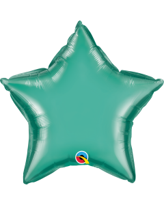 "20""Green Chrome Star"