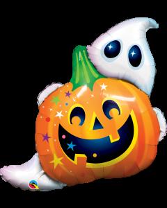 "33"" Halloween Jack & Ghost"