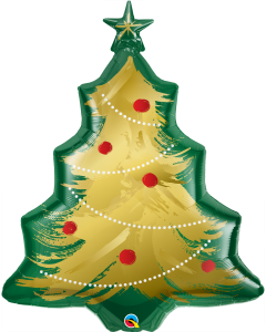 "40"" Brushed Gold Christmas Tree"