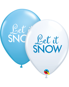 """11"""" Let It Snow! 50ct"""