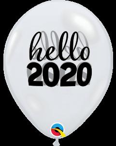 "11"" Hello 2020 50ct"