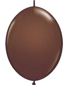 "6"" Quick Link Chocolate Brown  50ct"