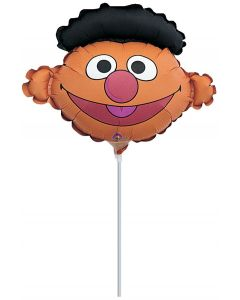 "14"" Ernie Head Inflated with Cup & Stick"