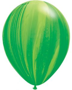 "11"" Green Agates 25Ct"