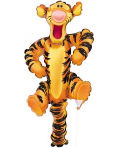 "14"" Tigger Full Body Inflated with Cup & Stick"