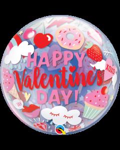"22"" Valentine Treats Single Bubble"