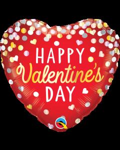 """18"""" Valentine Hearts & Confetti Pkg"""