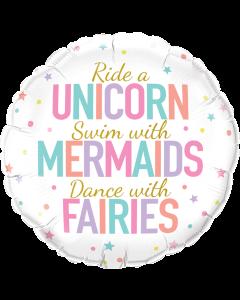 """18"""" Unicorn - Mermaids - Fairies"""