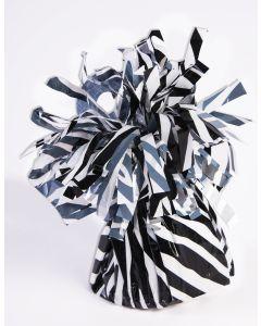 Zebra Stripe Balloon Wgt