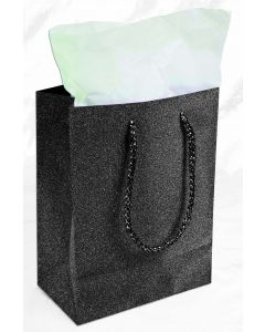 "9""X 7"" Black Diamond Gift Bag"