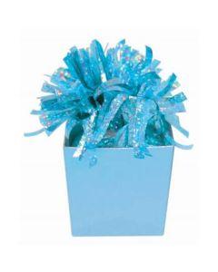 "9""X 7"" Lt Blue Diamond Gift Bag"