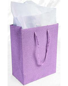 """9""""X 7"""" Pink Diamond Gift Bag"""