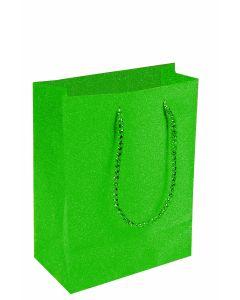 """9""""X 7"""" Green Diamond Gift Bag"""