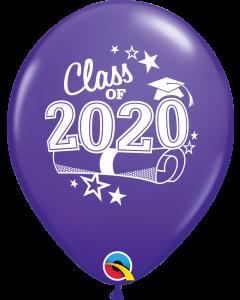 "11"" Class of 2020 PurVio 50ct"