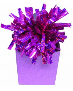 Hot Pink Diamond Box Balloon Wgt.