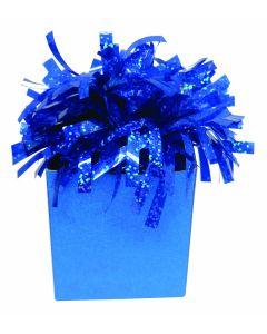 Royal Blue Diamond Box Balloon Wgt.