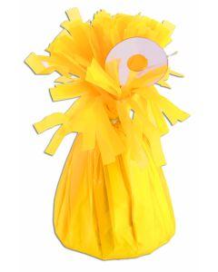 Neon Yellow Balloon Wgt