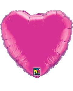 """4"""" Magenta Heart"""