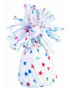 Red Wh Blue Stars Balloon Wgt