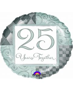 """18"""" 25 Years Togetrer"""