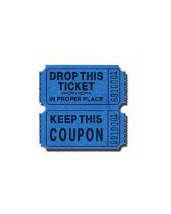 Blue Raffle Tickets 2000 Roll