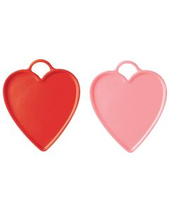 Red & Pink Heart Weights 100ct