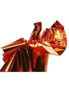 Orange Metallic Sheets 50ct