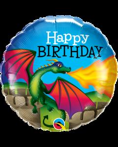"18"" Mythical Dragon B'day  Pkg"