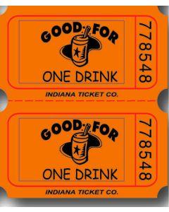 Orange Drink Tickets 2000 Roll