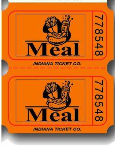 Orange Meal Tickets 2000 Roll