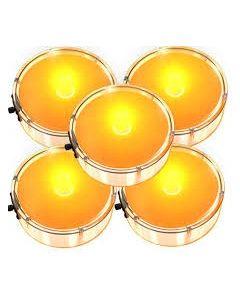 Party Dots Orange 5ct