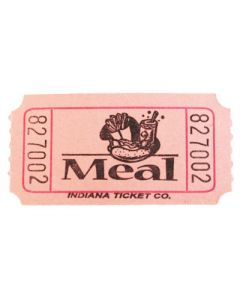 Pink Meal Tickets 2000 Roll
