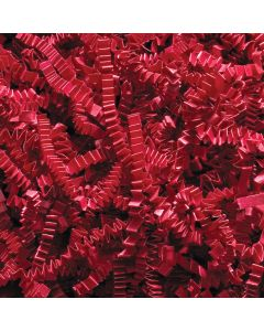 Red Paper Crinkle Shred 1 lb