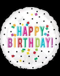 "18""Big Birthday Confetti"