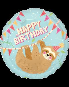 """18""""Birthday Sloth"""