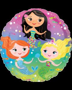 """18""""Mermaids"""